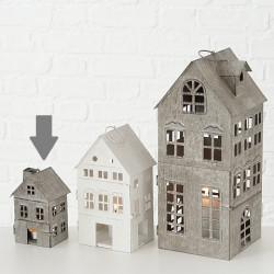 Domek lucerna, malá, šedá