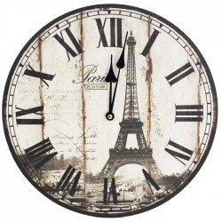 Hodiny pr. 34cm - PARIS