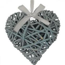 Srdce modré 20 cm