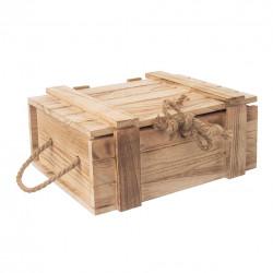 Truhla dárková dřevo 30x21x12 cm