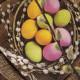 Ubrousek Vajíčka v hnízdě 20 ks 33x33 cm