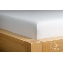 Prostěradlo jersey Bílé Barva: bílá, Rozměr matrace: 90/200/20