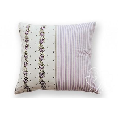 Povlak na polštář 40/40 ADRIA, fialová, bavlna