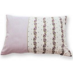 Bavlněný polštářek ADRIA Barva: fialová, Rozměry: 40x60