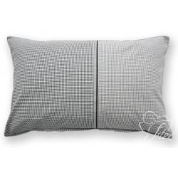 Bavlněný polštářek CUBE Barva: černá, Rozměry: 40x60