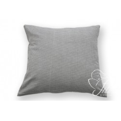 Bavlněný polštářek CUBE 2 Barva: černá, Rozměry: 40x40