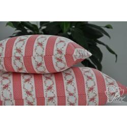Bavlněný polštářek CARINA Barva: starorůžová, Rozměry: 70x90