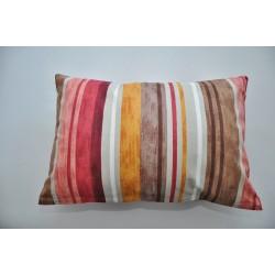 Bavlněný polštářek BAHAMA/pruh Barva: hnědá, Rozměry: 40x60