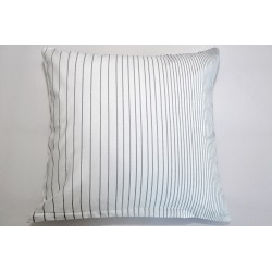 Bavlněný polštářek OLIVER Barva: šedá, Rozměry: 40x40