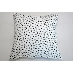 Fitex Bavlněný polštářek OLIVER PUNTÍK Barva: šedá, Rozměry: 40x40