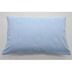 Bavlněný polštářek FENYX PRUH Barva: modrá, Rozměry: 40x60