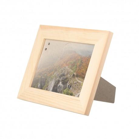 Dřevěný stolní fotorámeček 19 x 14 cm