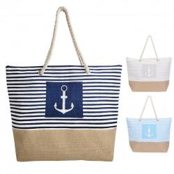 Taška nákupní a na pláž SEA 52x14 cm