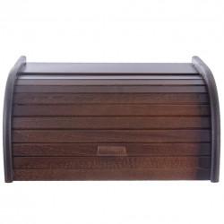 Chlebovka dřevo 38,5x29x18 cm AMALIE  HNĚDÁ