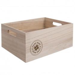 Bedýnka dřevo HOME MADE 31x21x13 cm