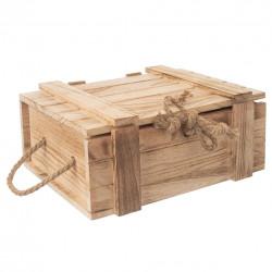 Truhla dárková dřevo 36x26x16 cm