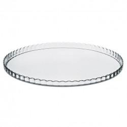 Podnos sklo kulatý pr.32cm