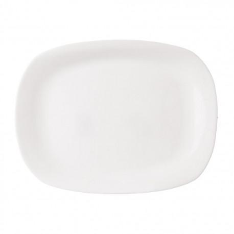 Talíř opal obdel PARMA 28x21cm