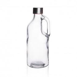 Láhev sklo/kov. víčko 1,15 l TRUELY