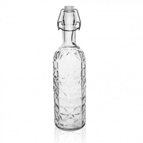 Láhev sklo CLIP uzávěr 1,1 l ELA