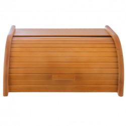 Chlebovka dřevo 38,5x29x18 cm AMALIE světle HNĚDÁ