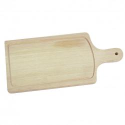 Prkénko rukojeť dřevo 44x20 drážka