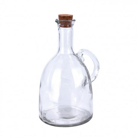 Láhev sklo/korek ocet/olej 0,6 l