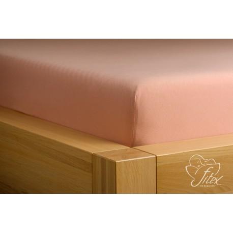 Prostěradlo jersey Béžové Barva: béžová, Rozměr matrace: 140/200/20
