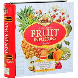 Čaj Fruit Infusions Book Fruity Delight, 32x1,8g, BASILUR
