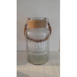 Váza Home, skleněná