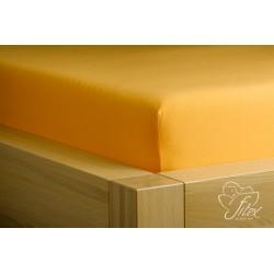 Prostěradlo jersey Pomerančové Barva: pomerančová, Rozměr matrace: 60/120/10