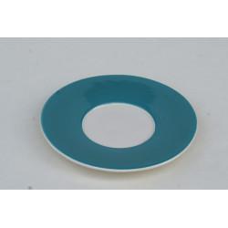 Podšálek espresso Veselá kočka modrá