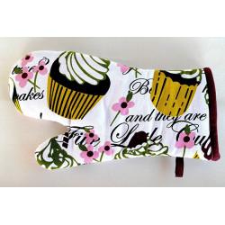Chňapka - rukavice Cupcakes