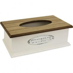 Dřevěný zásobník na ubrousky