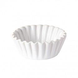 Forma na muffin, bílá, 13 cm