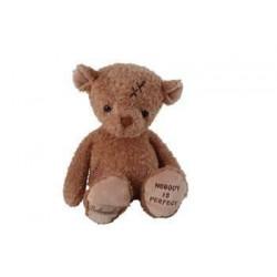BK NOBODY´S PERFECT medvěd se záplatou, 25 cm