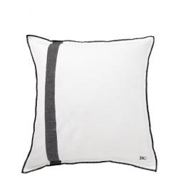 Povlak na polštář PRUH, bílá, 50x50 cm
