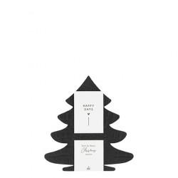 Držák na ubrousky STROMEK, černá, 6 ks