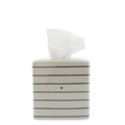 Box na papírové kapesníky PROUŽEK, natural