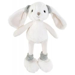 BK DAISY zajíček, holčička, bílá, 25 cm