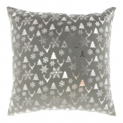Vánoční dekorativní polštář Bernt šedý