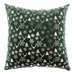 Vánoční dekorativní polštář Bernt zelený