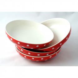 Sada hlubokých talířů 21 cm, 4 ks, Puntík