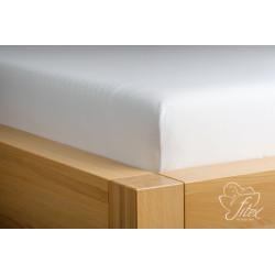 Prostěradlo jersey Bílé Barva: bílá, Rozměr matrace: 140/200/20