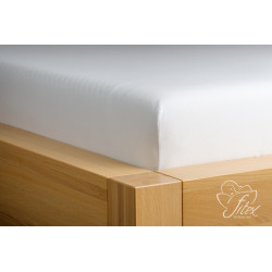 Prostěradlo jersey Bílé Barva: bílá, Rozměr matrace: 180/200/20