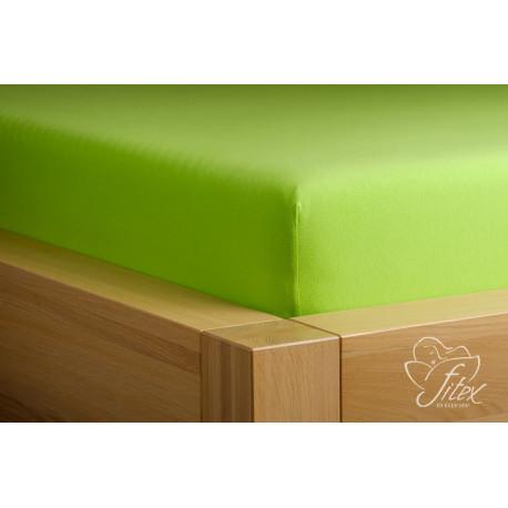 Prostěradlo jersey Kiwi Barva: kiwi, Rozměr matrace: 140/200/20