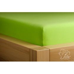 Prostěradlo jersey Kiwi Barva: kiwi, Rozměr matrace: 200/220/20
