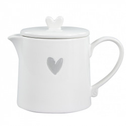 Konvička na čaj se srdíčkem 0,75l