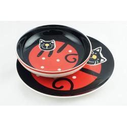 Jídelní sada, Veselá kočka