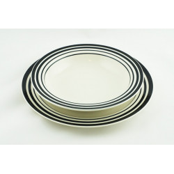 Sada talířů Proužek